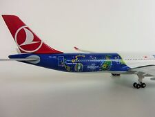 TURKISH AIRLINES UEFA EM Airbus A330-300 1/500 Herpa 529556 FRANCE EURO 2016