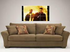 """BAD BOYS  MOSAIC 35""""BY25"""" WALL POSTER WILL SMITH"""