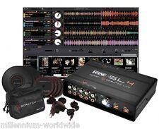 RANE SERATO SL4 4 DECK DIGITAL DJ INTERFACE w/ VINYL, CD Authorized Dealer SL 4