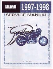 Harley Werkstatthandbuch Buell 1997-1998 M2 Cyclone 99491-98y Reparaturanleitung