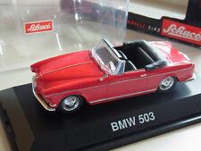 Bmw 503 convertible rojo Schuco 1/43 OVP nº 02243