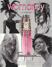 PUBLICITE ADVERTISING  advertising  2009   Thierry Mugler parfum Womanity