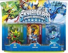 Skylanders Spyros Adventure Giants CAMO IGNITOR WARNADO NISB Rare! Swap Force