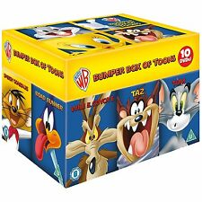 "Looney Tunes Big Faces Box Set (Bugs Bunny) 10 DVDs R4 ""Dent sale"""