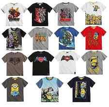 Magliette e maglie per bambini dai 2 ai 16 anni 100% Cotone