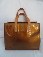 GENUINE LOUIS VUITTON BAG - Bronze Vernis Reade PM Tote Bag
