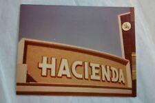 Vintage Color Photo Roadside Hacienda Sign Hotel Casino Las Vegas Nevada 843