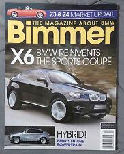 BIMMER BMW MAGAZINE 2007 DECEMBER #71 X6  M M3 E92 E90 E46 E30 E36 F13 E24