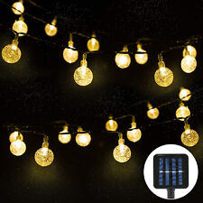 Weihnachtsbeleuchtung Aussen Led Preis.Solar Led Lichterkette Außen Günstig Kaufen Ebay