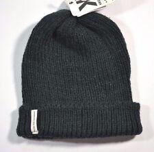 Krochet Kids International WATCHMAN Washed Black Knit Cap Hat (D) Woman's Beanie