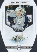 2011-12 Certified Masked Marvels #7 Pekka Rinne Nashville Predators
