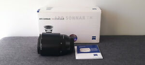 Zeiss APO SONNAR T 135mm f/2.0 ZF.2 Lens for Canon