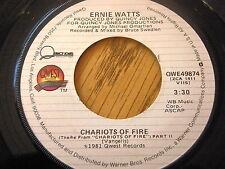 "ERNIE WATTS - CHARIOTS OF FIRE  7"" VINYL"