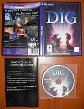 The Dig [PC CD-ROM] Lucas Arts Classic, Versión Española Castellano ¡¡COMPLETO!!