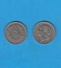 Gouvernement Provisoire 5 Francs en nickel 1938
