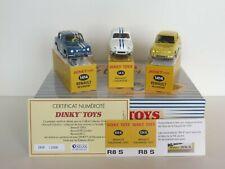 DINKY TOYS ATLAS // COFFRET RENAULT GORDINI // SERIE PRIVILEGE 2000 EXEMPLAIRES