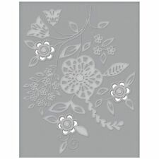 Spellbinders Cutting & Embossing Folder Blooming Sprigs