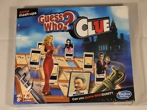Guess Who? Clue Game Mashups Hasbro Gaming