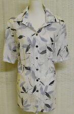Klassische Taillenlang Damenblusen,-Tops & -Shirts im Blusen-Stil mit Baumwollmischung