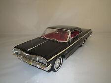 "Ertl/American Muscle  Chevrolet  Impala ""1964""  (schwarz) 1:18 ohne Verpackung !"