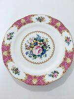 "ROYAL ALBERT LADY CARLYLE 10-1/2"" CHINA DINNER PLATE"