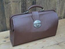 Vintage Cheney Doctors Case Bag Central Strap Clasp Inside Pockets Collectable D