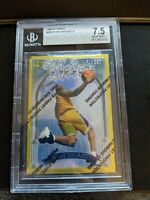 1996-97 Topps Finest Kobe Bryant Gold Heirs Rookie Lakers RC Near Mint BGS 7.5