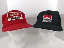 Marlboro Racing (2) Vintage Penske Snapback Baseball Hats Caps