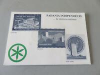 Paar Medaillen Münzen Lega Nord Padania Independent 2001 Serie Spezial