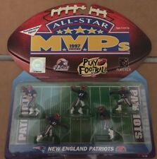 NEW ENGLAND PATRIOTS 1997 All-Star MVP's NFL Poseable Action Figures BLEDSOE