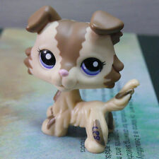 "LPS COLLECTION Figure CREAM CHOCOLATE DOG 3"" LITTLEST PET SHOP #2210"