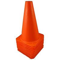 "(10) 9"" Cones Soccer Football Training Traffic Field Road Block Train Dog Horse"