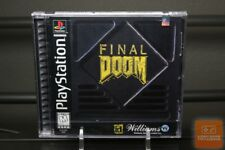 Final Doom (PlayStation 1, PS1 1996) Y-FOLD SEALED! - ULTRA RARE!