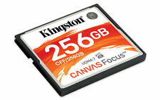 256GB Kingston Canvas Focus CompactFlash Memory Card