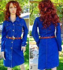 Ropa vintage de mujer de color principal azul vaquero