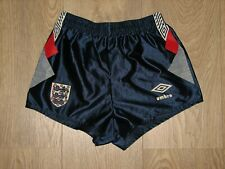 ENGLAND 1990-92 UMBRO FOOTBALL SHORTS SOCCER SIZE BOYS 66cms/26inch