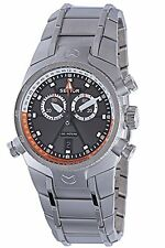 Sector Men's R3271695125 Chronograph Luminous Black Dial Stainless Steel Watch