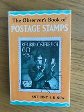 THE OBSERVER'S BOOK OF POSTAGE STAMPS 1967 edition in dustwrapper