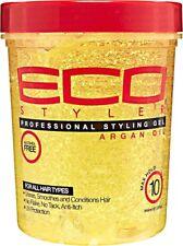 Eco Styler Professional Moroccan Argan Oil Styling Hair Gel Maximum Hold 32oz