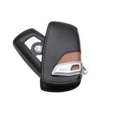 GENUINE BMW Leather Key Case/Fob; Black/Brown   82292219917