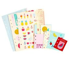 KIKKI K LARGE PLANNER DASHBOARD KIT CUTE STICKERS DIVIDER QUOTE CARDS + MORE