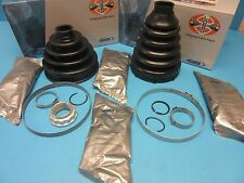 2 Front Axle Inner & Outer CV Joint Boot Kits L or R for BMW OEM# 31607507402
