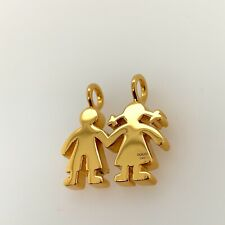 Gold Sweet Dolls Pendant -TOUS 18K Yellow Gold Solid Retail $1,100