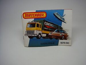 MATCHBOX-CARS CATALOGUE---1979/1980---NICE CONDITION--LOOK-