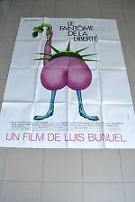 AFFICHE CINEMA 120 X 160 - LE FANTOME DE LA LIBERTE - JC BRIALY - ETAT NEUF
