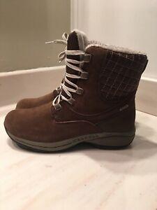 Merrell Dark Earth  Snow Winter Boots Women's Size 9.5