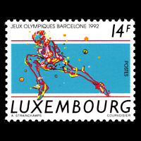 Luxembourg 1992 - Olympic Games - Barcelona, Spain - Sc 872 MNH