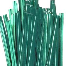 Paper Twist ties -12 Inch long Color Green 2000 count