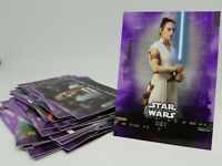 2019 Topps Star Wars Rise of Skywalker S1 Purple Singles U Pick & Comp Ur Set