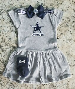 Cowboys baby/toddler girl clothes Cowboys baby gift girl Baby girl Cowboys